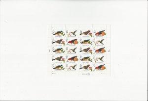 Tropical Birds  Scott #3225a