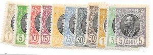 Serbia #87-89,99 set complete (MNH)* CV$79.70