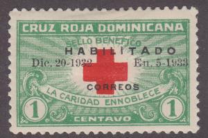 Dominican Republic 265B International Red Cross O/P 1932