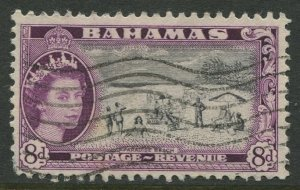 STAMP STATION PERTH Bahamas #166 QEII Definitive Issue Used CV$0.50