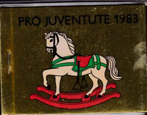 Switzerland 1983 Pro-Juventute Booklet Complete  VF/NH