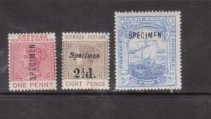 Grenada #30s #37s #47s Mint Fine - Very Fine Original Gum Hinged