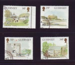 Guernsey Sc 342-5 1986 Museums stamps used