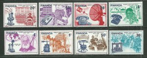 Rwanda MNH 746-53 Centenary Of 1st Telephone Call