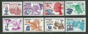 Rwanda MNH 746-53 Centenary Of 1st Telephone Call