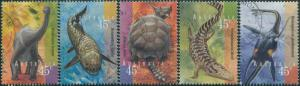 Australia 1997 SG1708-1712 Prehistoric Animals set FU