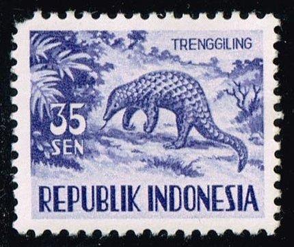 Indonesia #429 Malayan Pangolin; Unused (0.40)