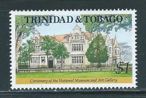 Trinidad & Tobago 551 100th Museum single MNH