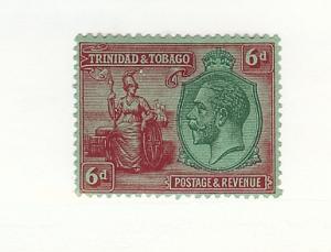 Trinidad & Tobago, 28, Britannia & King George V Single, VLH