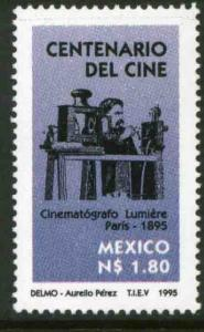MEXICO 1947, Motion Pictures Centennial. MINT, NH. VF. (69)