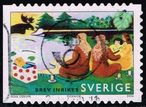 Sweden #2536a Summer by the Lake; Used (1.00)