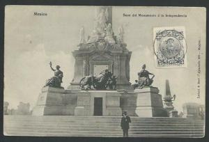 MEXICO 1922 postcard posted without address markings etc...................10453