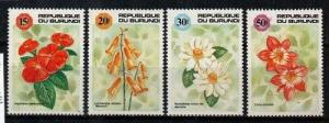 Burundi Scott 666B-E Mint NH (Catalog Value $18.50)