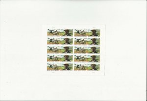US Stamps Sheet/Postage Sct #4466a Negro Leagues Baseball MNH F-VF OG  FV$8.80