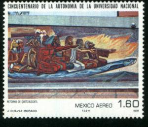 MEXICO C609, Autonomy of the National University. MINT, NH. F-VF.