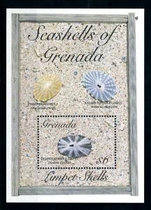 [99660] Grenada 1993 Marine Life Sea shells Souvenir Sheet MNH