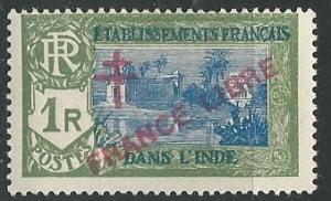 French India  ^ Scott # 171 - MH