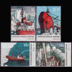 A.A.T.. 2003 - Scott# L121a-3 Ships Set of 4 NH