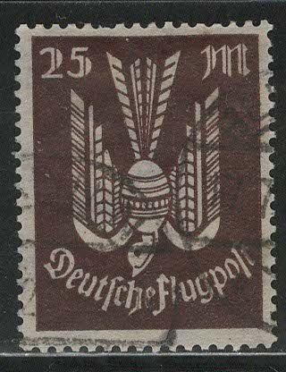 Germany Reich Scott # C17, used, exp h/s