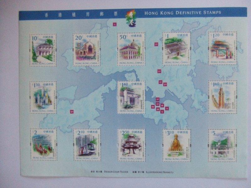 Hong Kong 1992-1999 FDCs/cover/pack/sheet (5 scans)