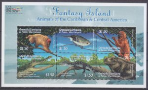 2000 Grenada Grenadines 3346-3351KL Animals in the Caribbean 10,00 €