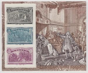 ITALY MNH Scott # 1883-1887 Columbus - 5 Sheets (15 Stamps)