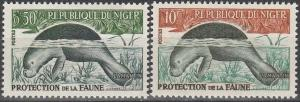 Niger #107-8 MNH F-VF  (V256)