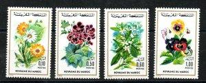 1974 - Morocco - Maroc - Flowers - Roses - Fleurs - Complete set 4v.MNH**