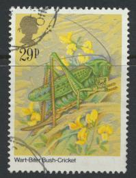 Great Britain SG 1279 - Used -Insects