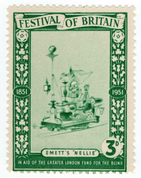 (I.B) Cinderella Collection : Festival of Britain - Emett's Nellie 3d