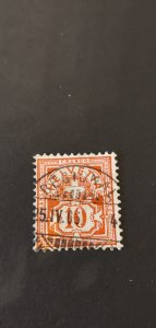 Switzerland #79 Used