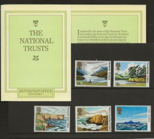 1981 THE NATIONAL TRUST PRESENTATION PACK 127