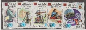 Qatar Scott #323-330 Stamps - Mint NH Set