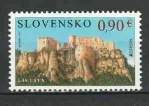 Slovakia 2017 Europa CEPT - Castles MNH stamp