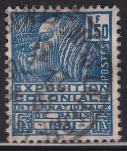 France 261 USED 1930 Fachi Woman 1.50Fr