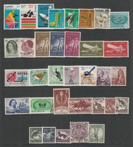Australia a small lot M&U mainly pre decimal