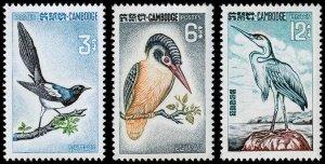 Cambodia Scott 132-134 (1964) Mint NH VF Complete Set C