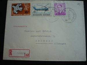 Europa 1961 - Belgium - International to Germany