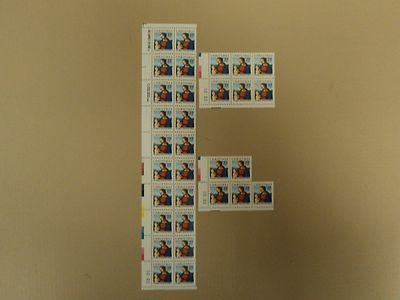 USPS Scott 2244 22c 1986 Christmas Perugino Lot of 3 Mint...