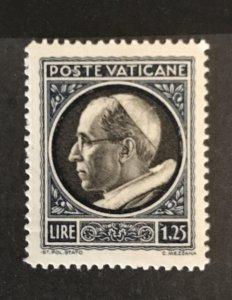 Vatican City 1940 #74, MNH, CV $.45