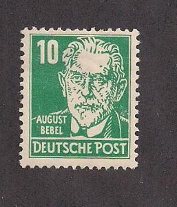 GERMANY - DDR SC# 125 F-VF OG 1953