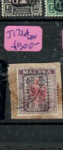 MALAYA JAPANESE OCCUPATION NS (PP1301B) 40C CHOP SG J172A      VFU