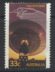 SG 1008 SC# 982   Fine Used  - Halley's Comet  Radio Telescope