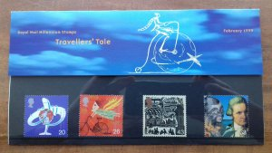 Great Britain 1999 A Travellers Tale Mint