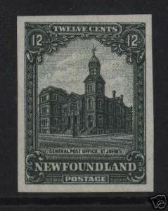 Newfoundland #154 XF Trial Color Die Proof