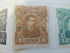Honduras 1891 2c fine used stamp A11P11F2