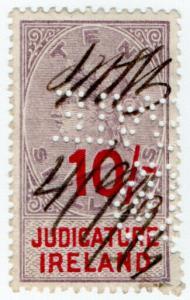 (I.B) QV Revenue : Judicature Ireland 10/-