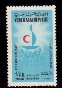Yemen - #188A Red Cross - MNH