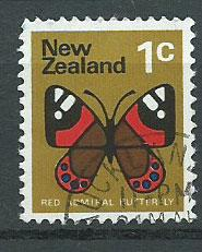 New Zealand SG 1008  FU unwatermarked paper