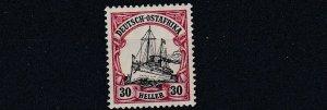 GERMAN EAST AFRICA  1905   S G 39   30H  BLACK &  CARMINE   MNH